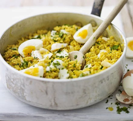90kg Rice Challenge – Recipe #1 Kedgeree