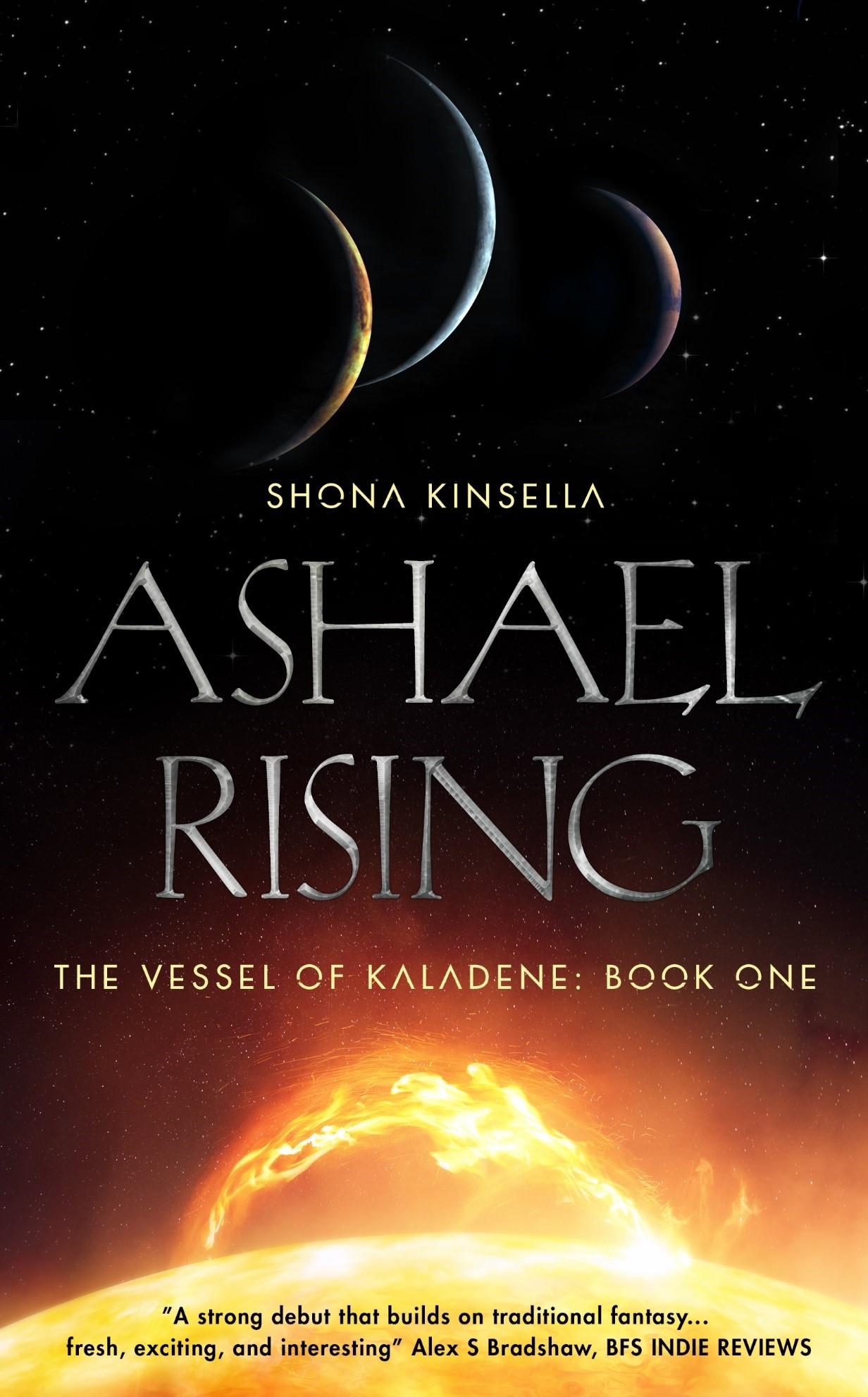 Ashael Rising Book Tour