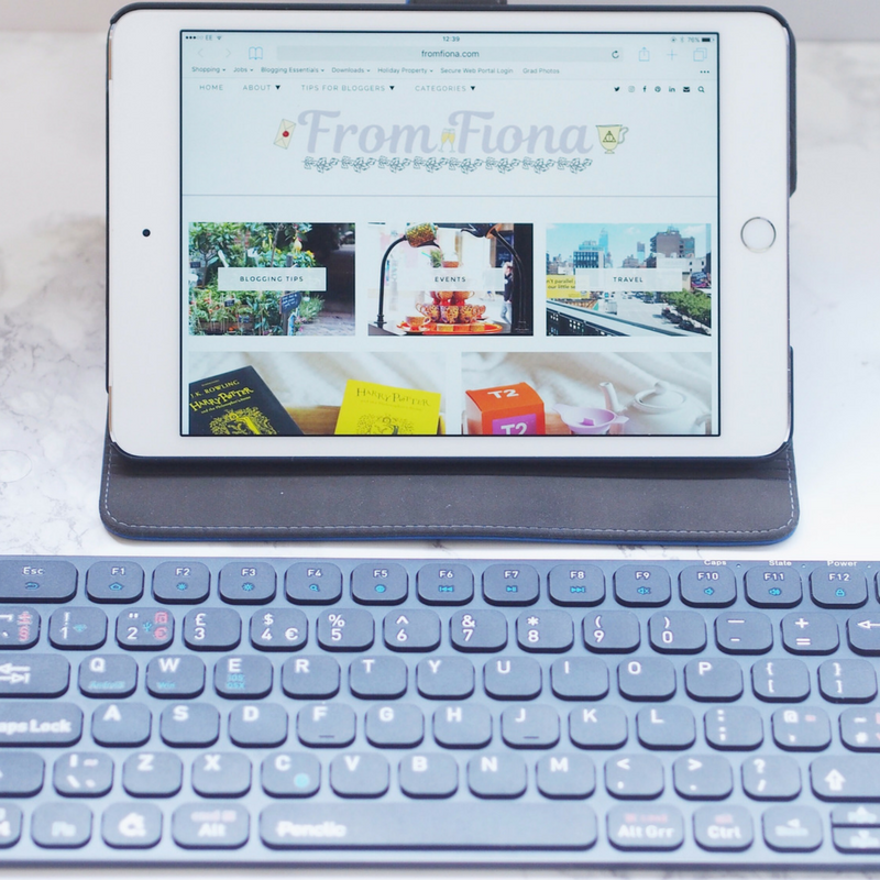 Bluetooth Keyboard for Blogging On The Go