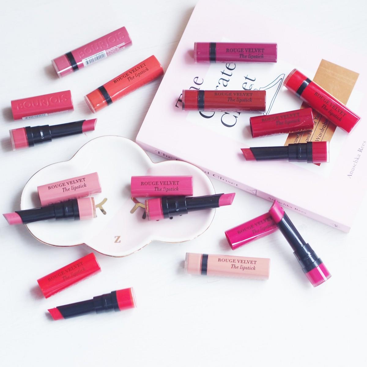 Velvet Lipstick: Bourjois First Impressions
