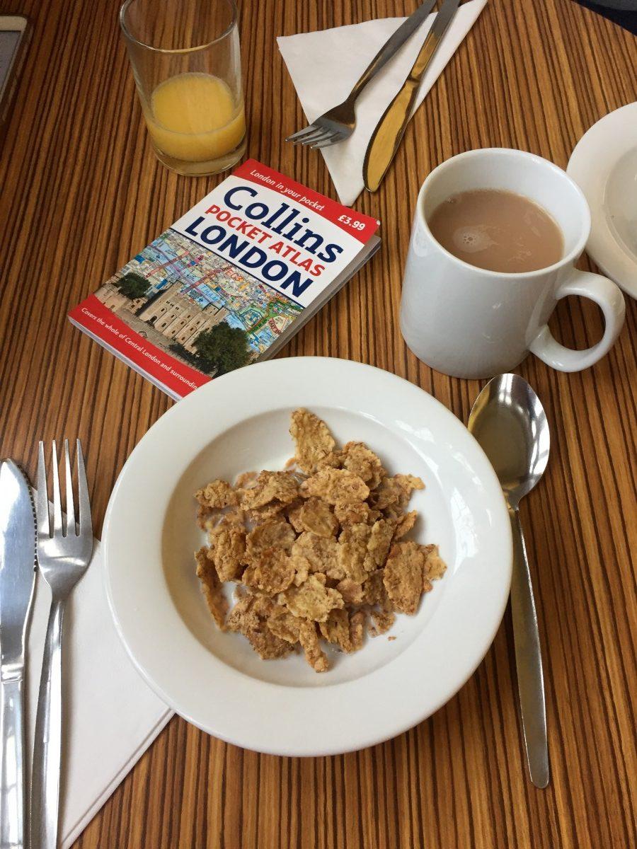 Superroom breakfast