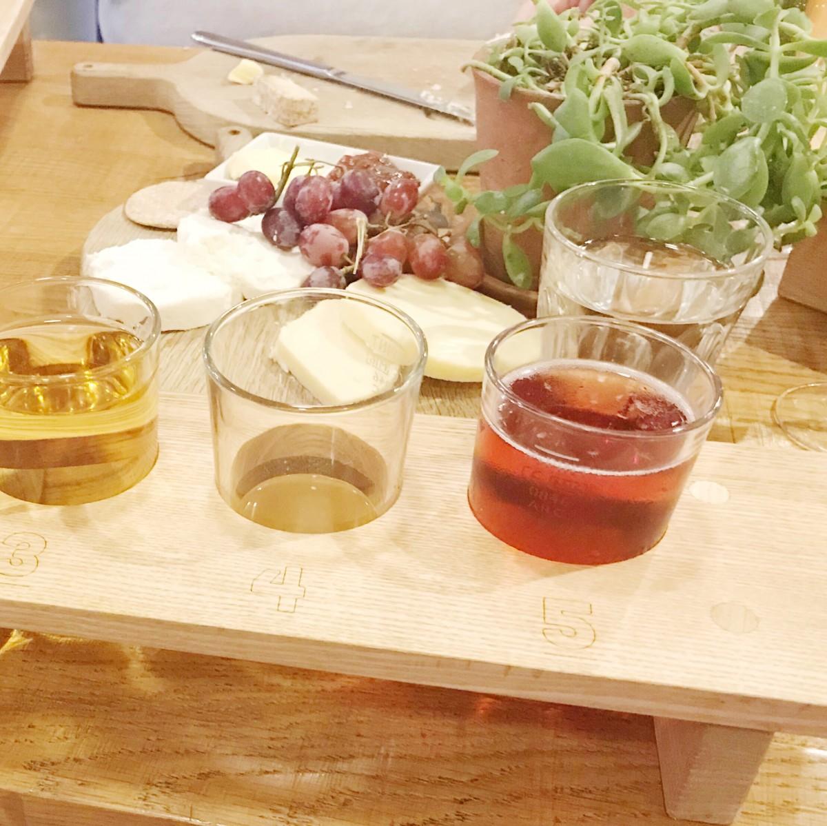 cider tasting experience