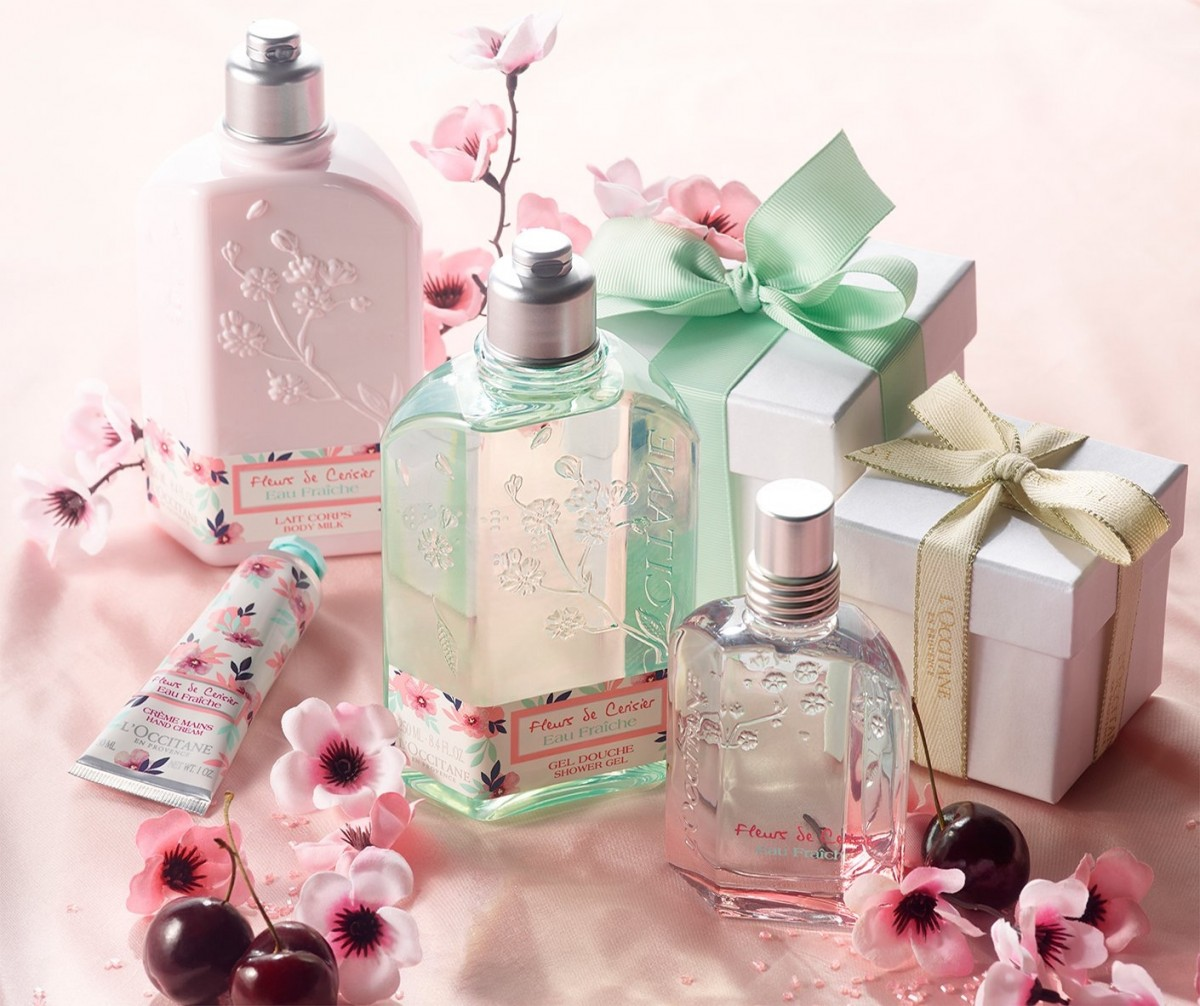 cherry blossom l'occitane birthday wish list